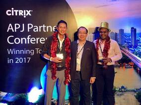 Net One Asia awarded Citrix Services Partner of the Year - ASEAN in Citrix APJ Partner Conference 2017